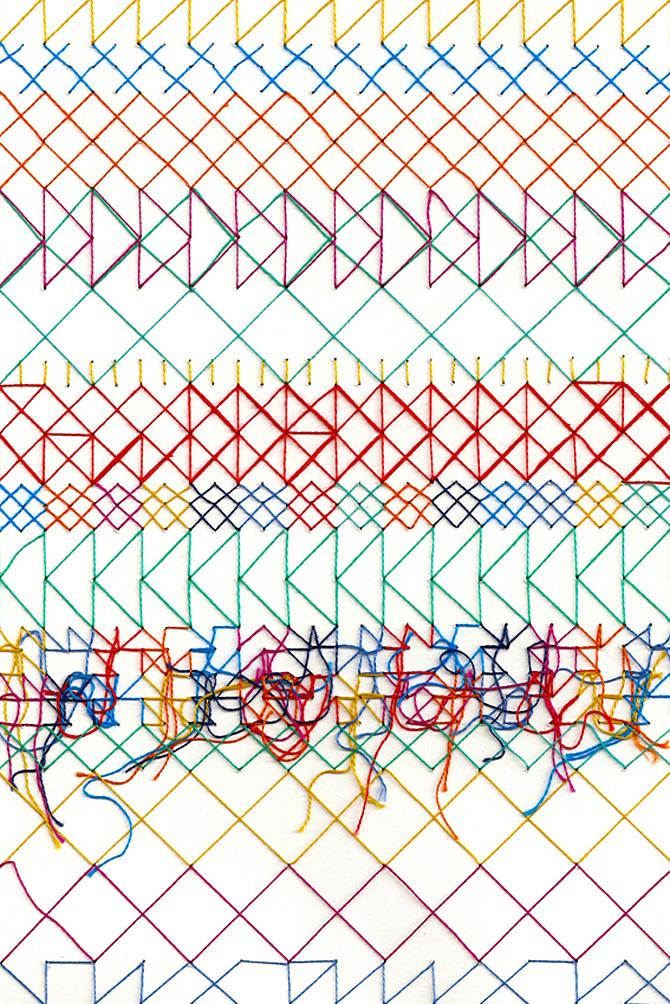Rachel Parker – Geometric Stitch