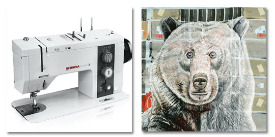 Textile artist and tutor says that the Bernina Industrial 950 is best sewing machine ever made.