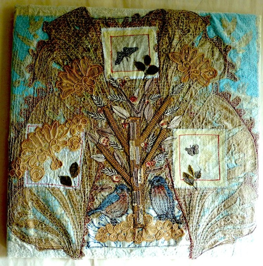 Anne Kelly is an expert in hanging textile art