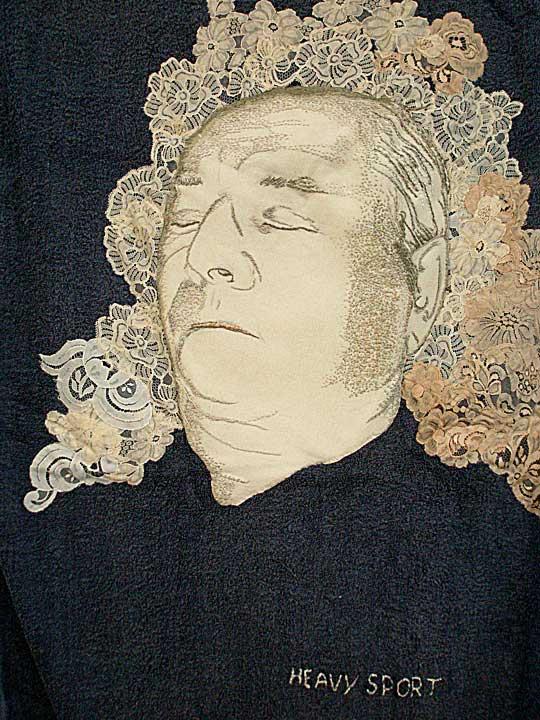 Textile art by Petra van der Steen
