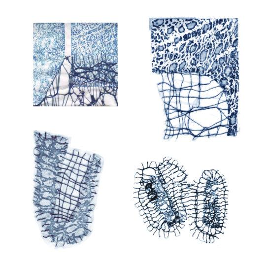 Ruth Lee, Stitch, etch, fragments