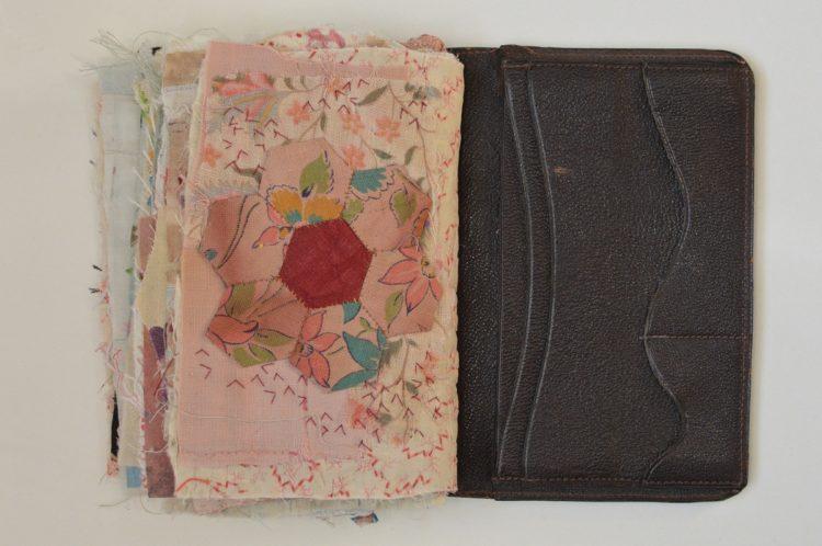 Mandy Pattullo: Stitched book - back page