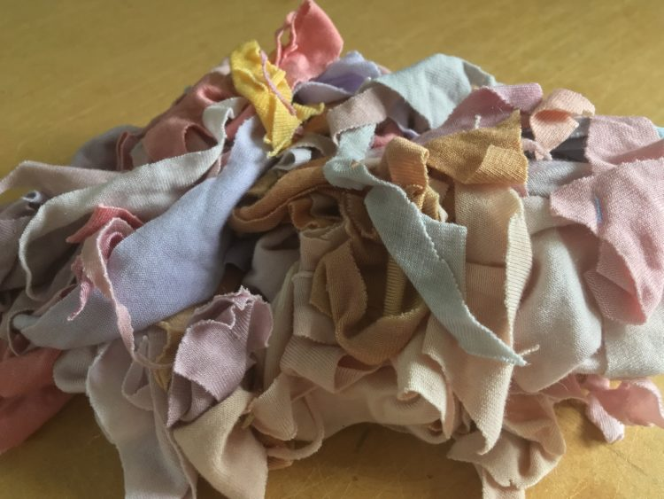 Daisy Collingridge: This is a satisfying heap of dyed jersey